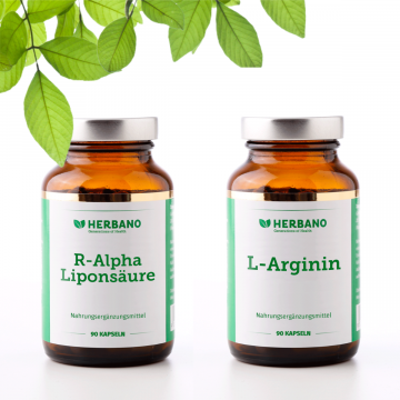 Diabetiker-Sorglos-Paket mti R-Alpha Liponsäure und L-Arginin