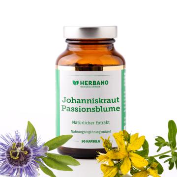 Johanniskraut Passionsblume Kapseln