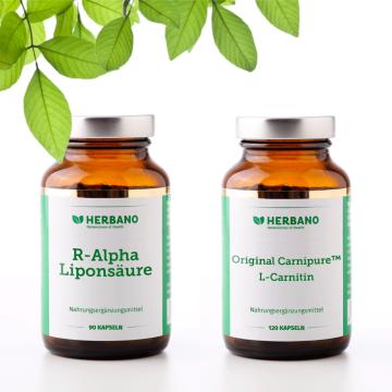 Polyneuropathie-Hilfe-Paket mit R-Alpha Liponsäure und L-Carnitin