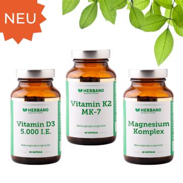 Vitamin D3 Vitamin K2 und Magnesium