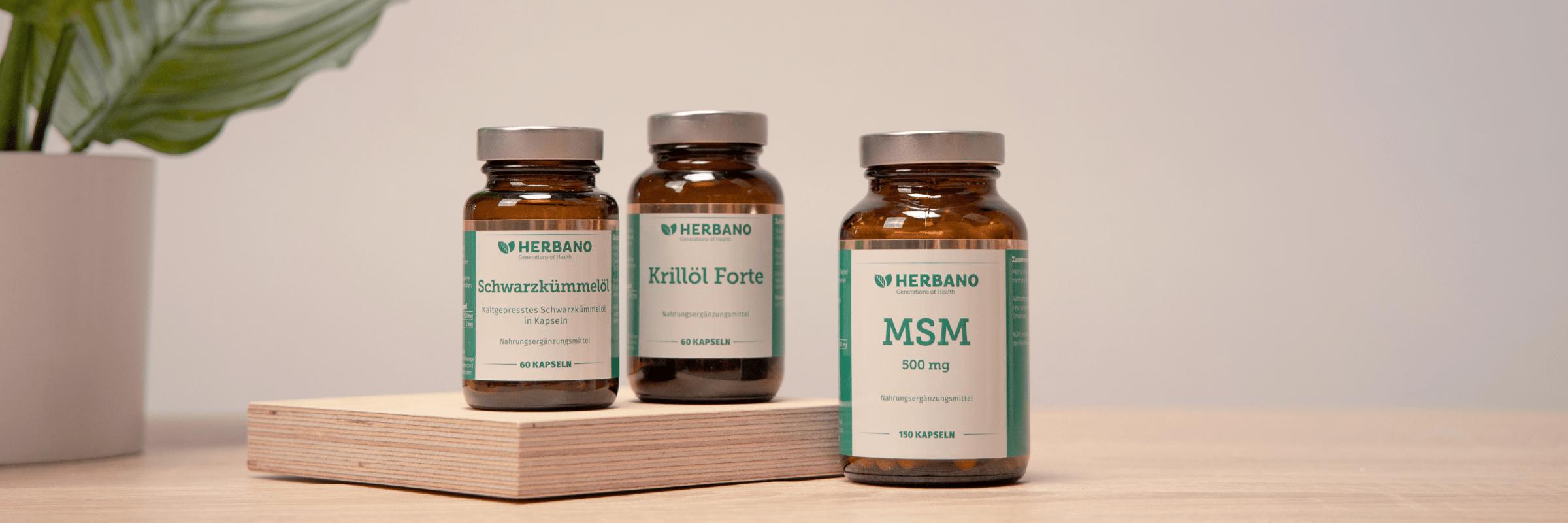 Schwarzkuemmeloel, Krilloel und MSM gegen Allergien