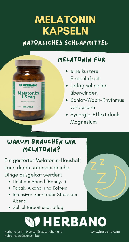 Melatonin Schlafmittel rezeptfrei kaufen