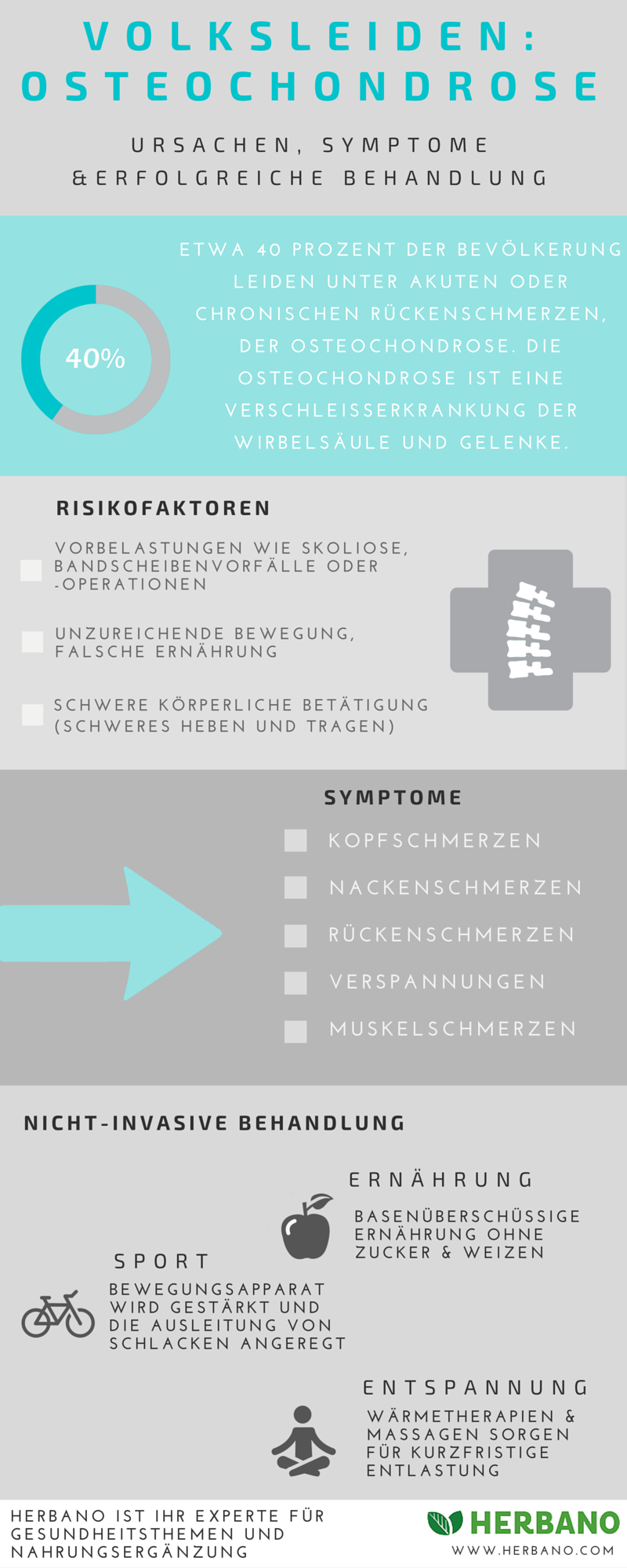 Osteochondrose Überblick