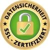 Datensicherheit SSL Zertifiziert